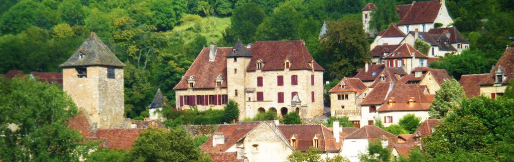 Autoire one of the most beautiful villages of France